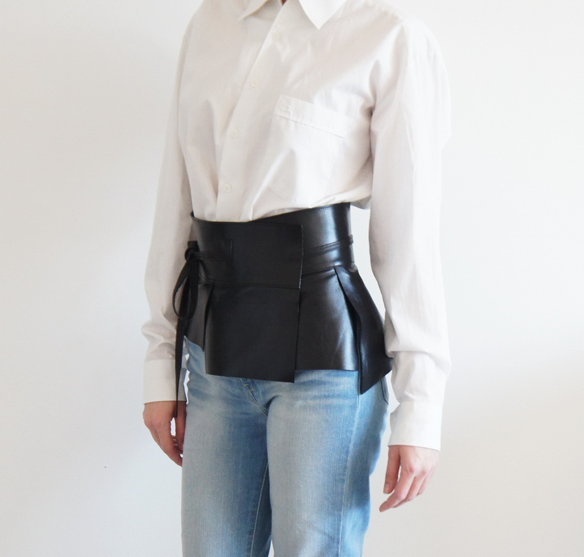 Пояс кожаный Smart style
