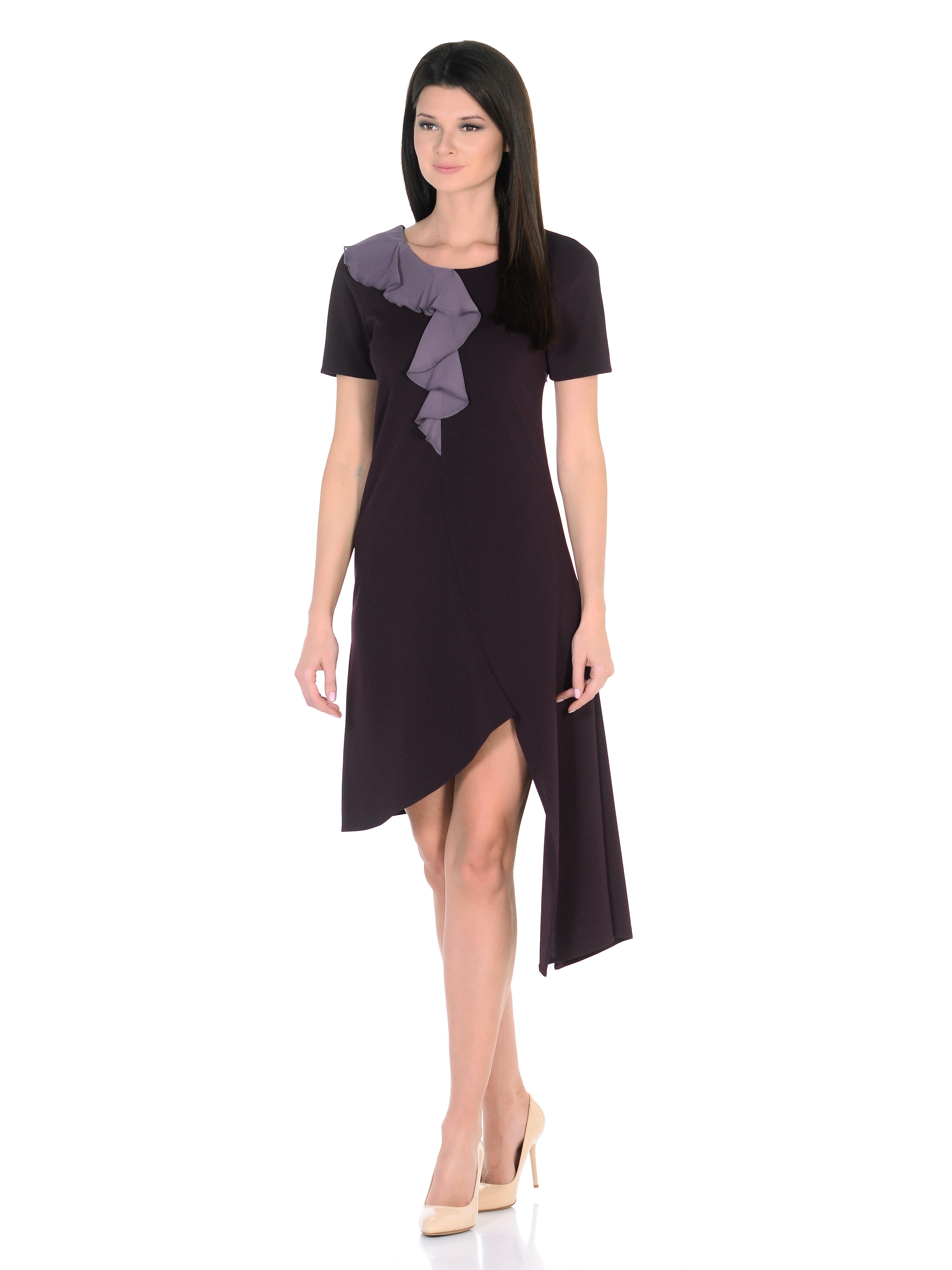 Платье Волна бордо