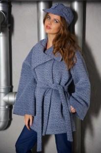 Пальто серо-голубое Image 1