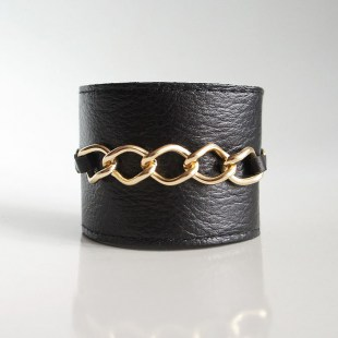 Браслет из кожи Chains Image 0