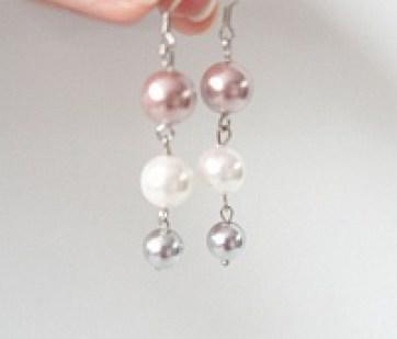 Белый браслет из кожи Pearls Image 2