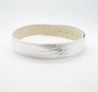 Пояс из натуральной кожи Silver Image 1