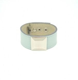 Кожаный браслет Квадрат Image 1