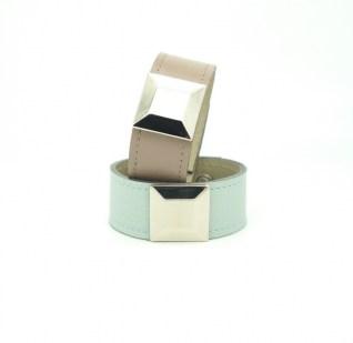 Кожаный браслет Квадрат Image 0