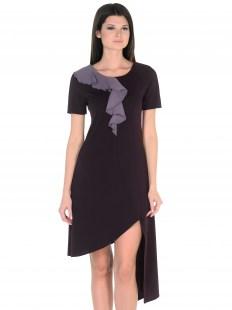 Платье Волна бордо Image 1