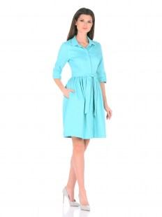 Платье Джинс бирюза Image 0