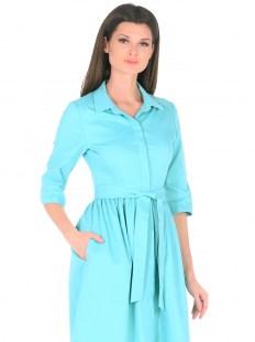 Платье Джинс бирюза Image 1